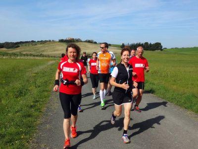 RUNNING Company Toskana Laufferien