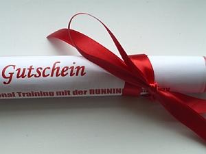 Geschenk-Gutschein RUNNING Company Lauftraining