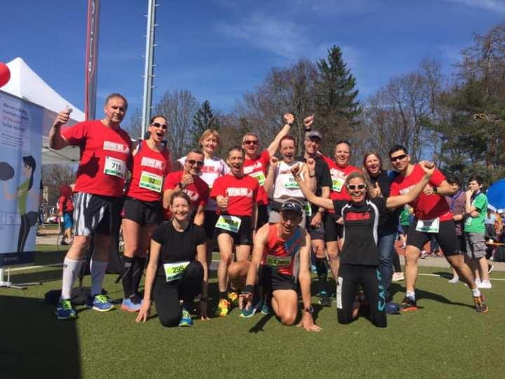 Was für eine Saisoneröffnung der Red Runners!