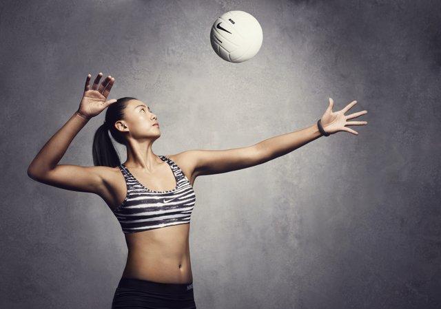 Nike Pro Classic Bra es un modelo de soporte media, versión sin acolchado - Xue Chen