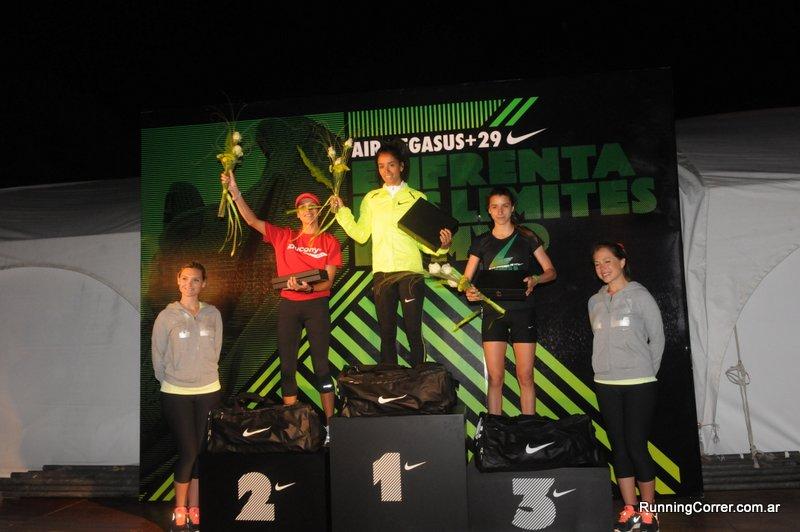 Carrera Nike We Run Montevideo 2012 Podio mujeres