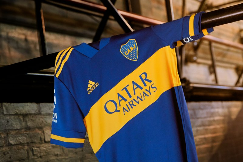 Camiseta de fútbol adidas Boca Jrs Away 2020