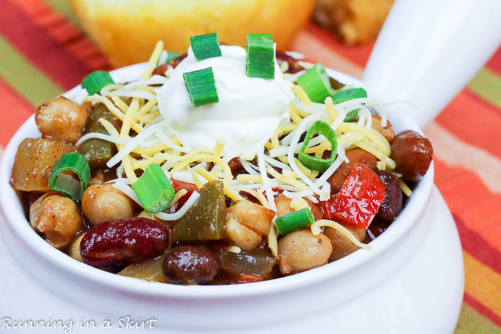 Crock Pot Award Winning Vegetarian Chili Recipe-62-3