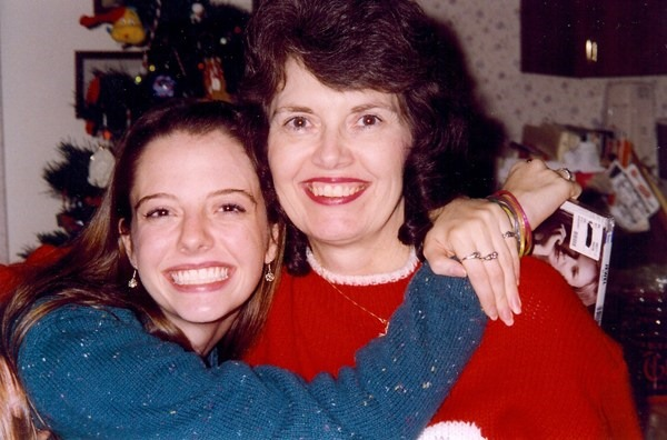 Mom and Julie teenager