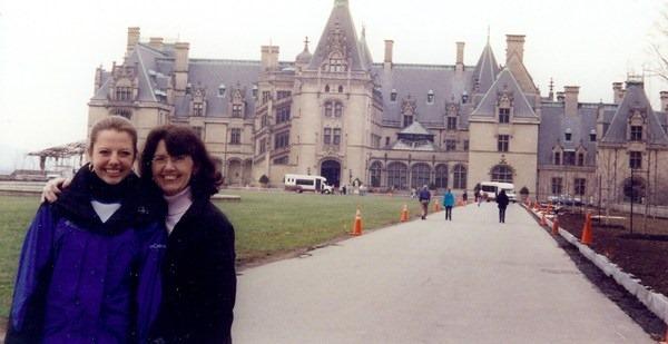 Mom and Julie Biltmore Estate