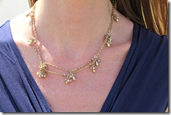 navy_dress_gold necklace
