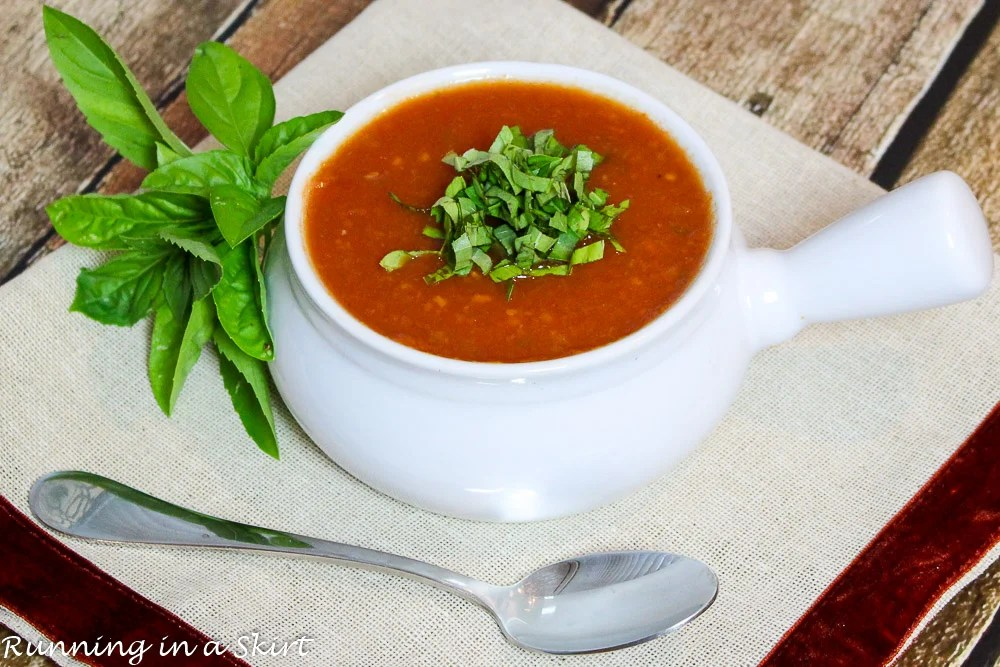 Vegetarian Crock Pot Tomato Basil Soup (2)
