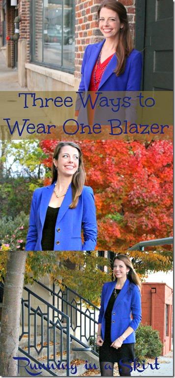how to wear a blue blazer pin