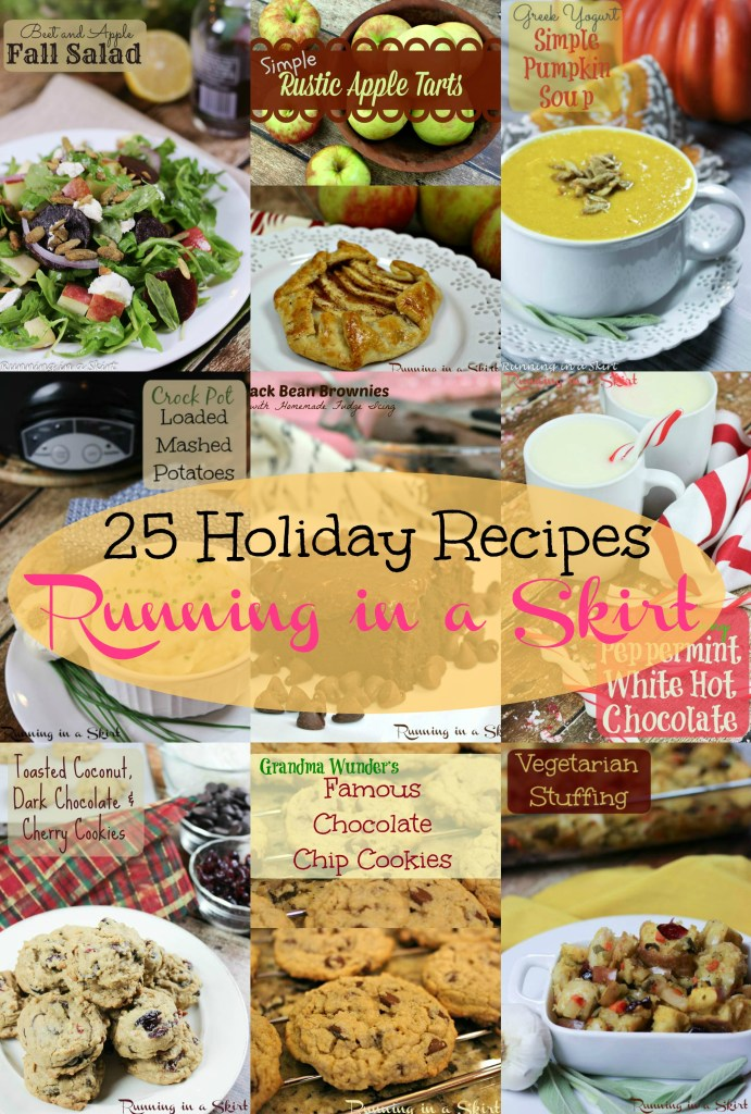 Holiday Recipe Roundup pin text