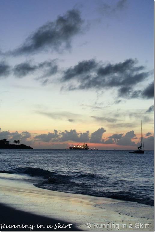Sunset Antigua