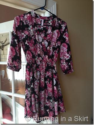 Floral Target Dress