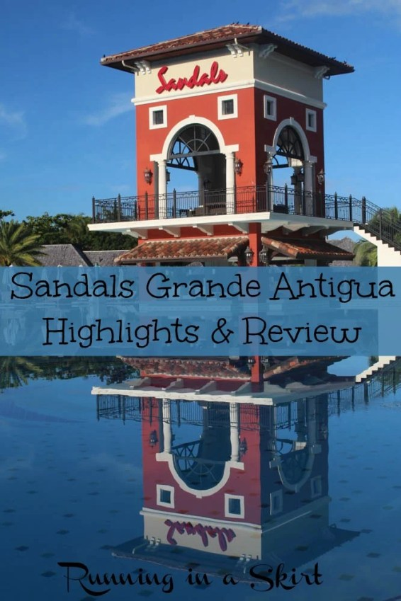 Sandals Antigua Review pin