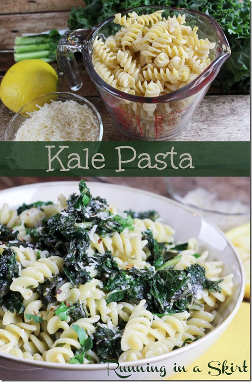 kale pasta recipe pin 2