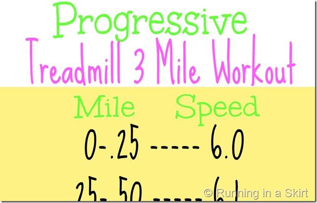 treadmill running workouts wide
