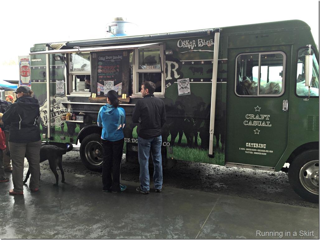 oskar blues 4 miler food truck