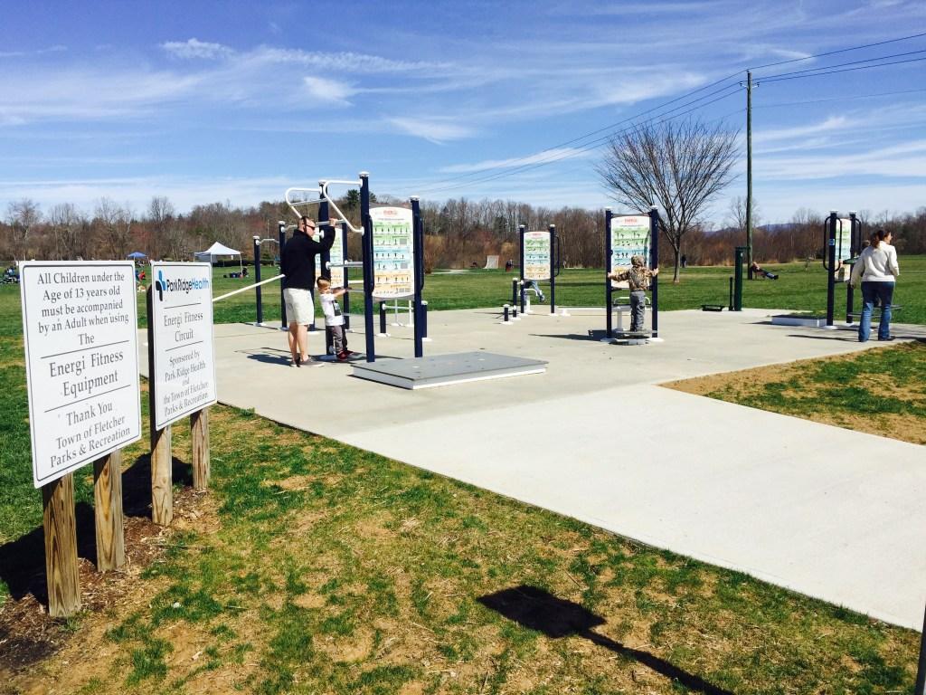 fletcher park outdoor gym