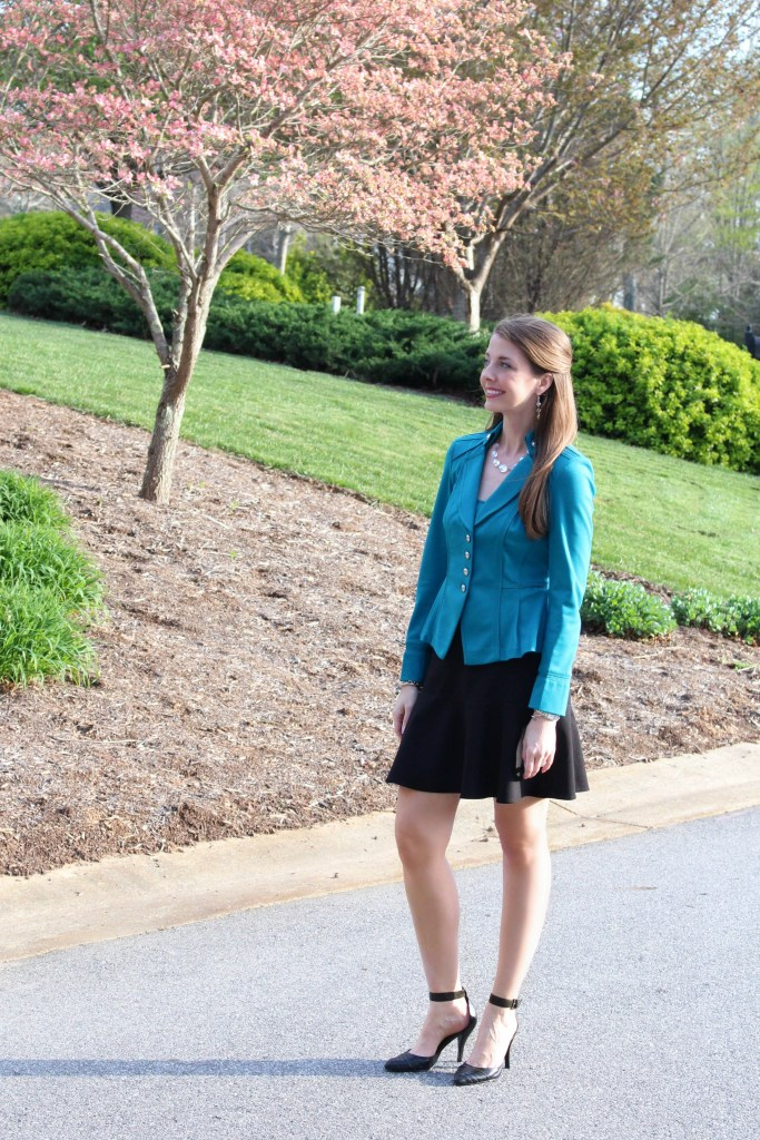 How to Pull off a Suit without looking frumpy!  This professional look can still be fashionable! / Running in a Skirt