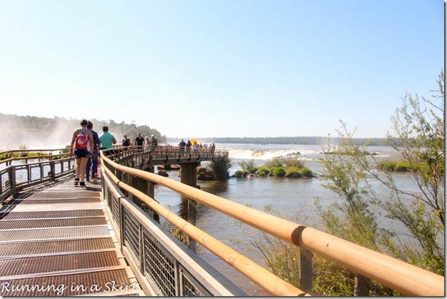 Iguazu Falls- Argentina Side, Upper Trial