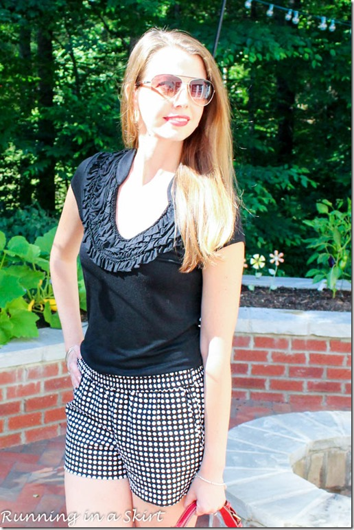 black and white polka dot shorts-38-2