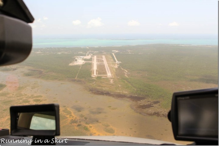 Flying to the Bahamas, Marsh Harbor Airport