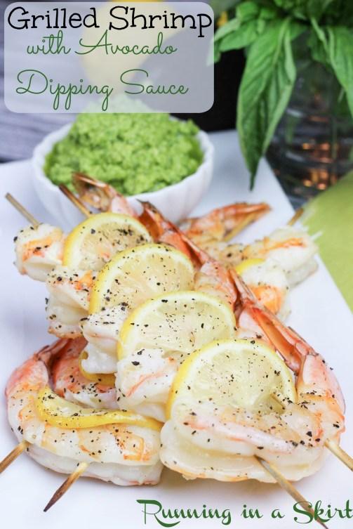 Grilled Shrimp Dipping Sauce Pin