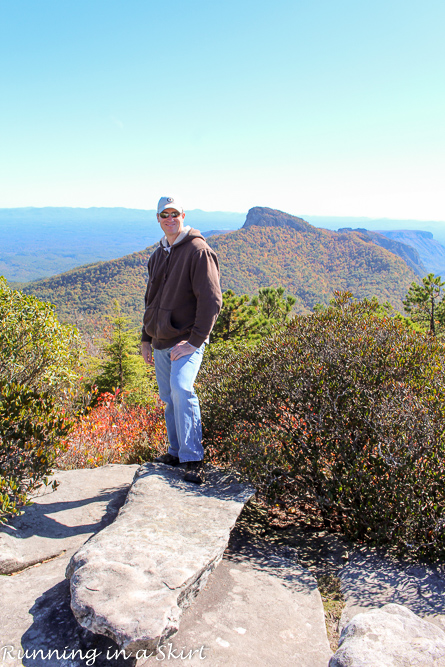 Hawksbill Mountain Hike, Linville Gorge in Western North Carolina, Tips, pictures and directions!/ Running in a Skirt