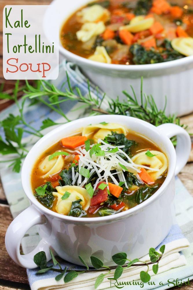Kale Tortellini Soup- 1