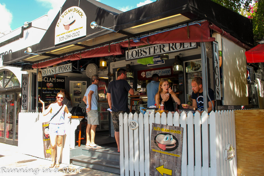 Key West DJ's Clam Shack