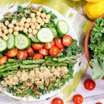 Vegan Cobb Salad - add avocado for creamy goodness! Perfect detox salad! / Running in a Skirt