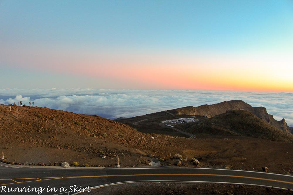 Haleakala Volcano Sunrise