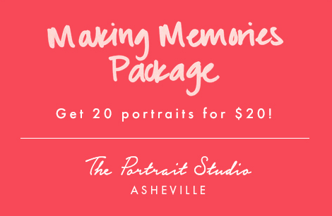The Portrait Studio Making Memories Package