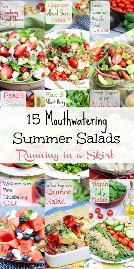 15 Mouthwatering Summer Salads - you will want to eat now