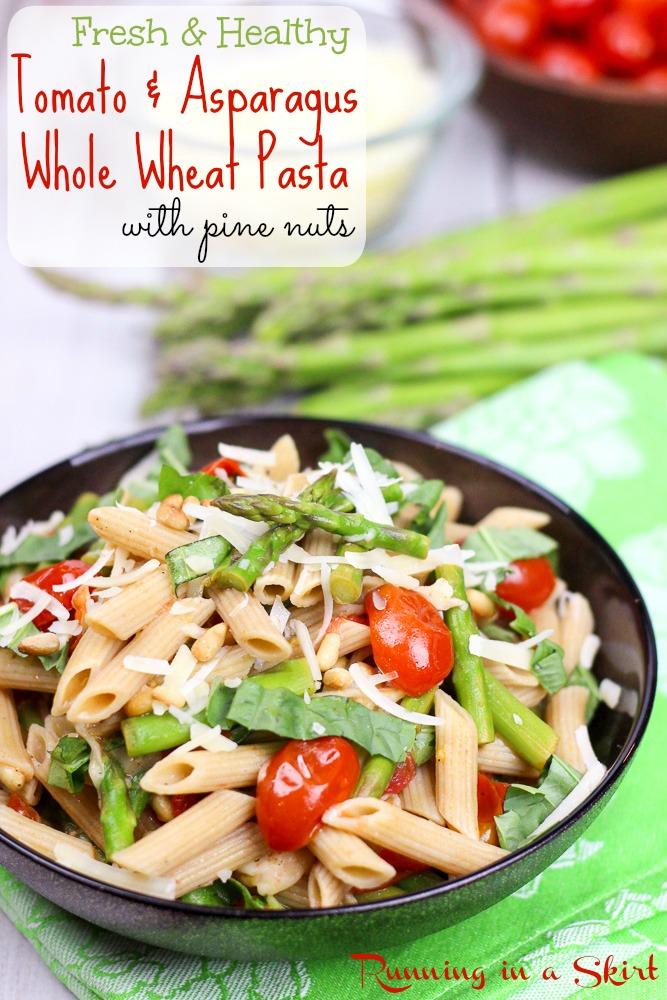 Tomato and Asparagus Pasta recipe