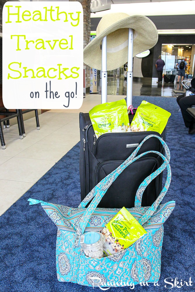 Healthy Travel Snacks on the go!