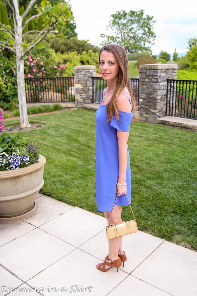 Off the Shoulder Lavender Dress-22-2