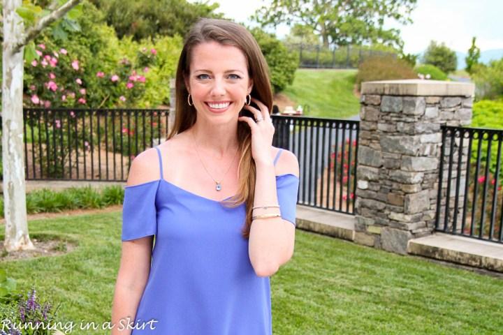 Off the Shoulder Lavender Dress-53-4