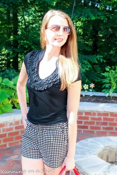 black and white polka dot shorts-38-2