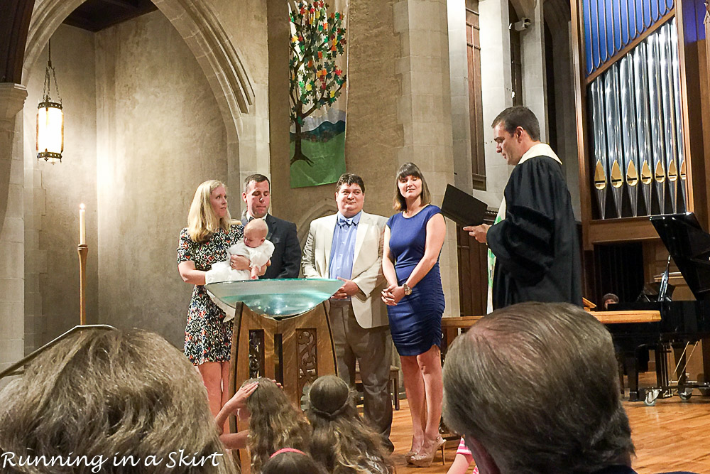 Evelyn's Baby Baptism