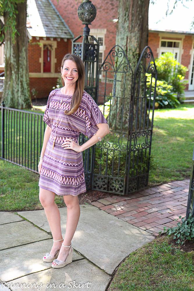 Short Kimono Sleeve dress-61-4