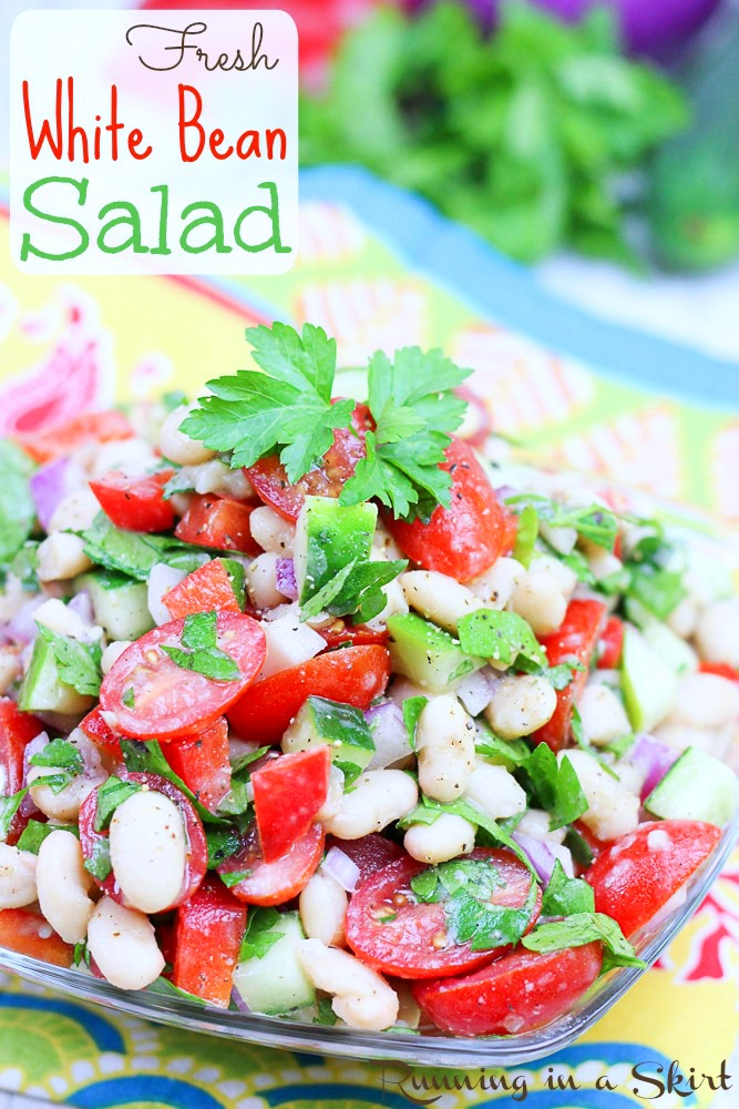 Vegan White Bean Salad recipe
