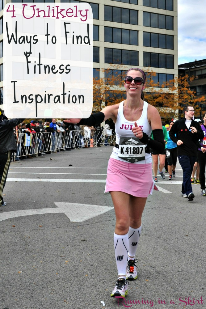 4 Unlikely Ways to Find Fitness Inspiration - inspirational movie - women inspiration fitness