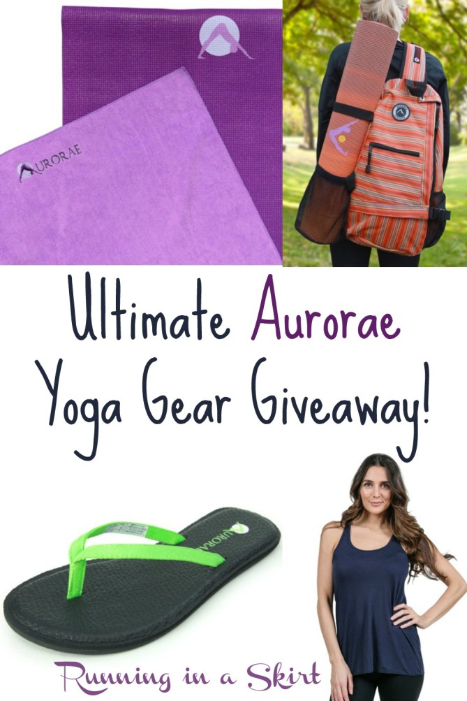 Ultimate Aurorae Yoga Gear Giveaway