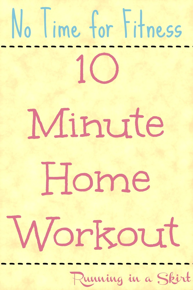 10 Minute Home Workout