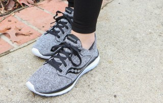 The Perfect Gym to Street Shoes- Saucony Marl Pack Shoes / Running in a Skirt