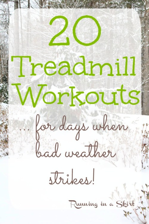 20 of the best treadmill workouts - for when the weather gets nasty
