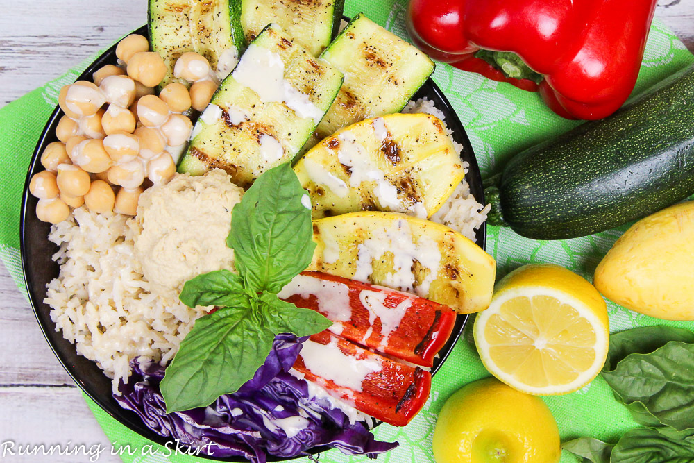 Grilled Vegetable Buddha Bowl recipe | Healthy Living ...
