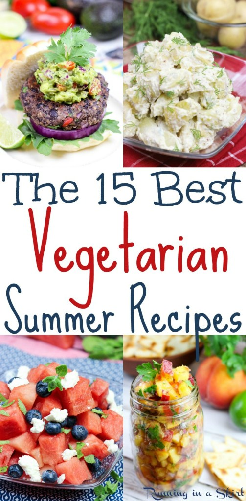 15 Best Vegetarian Summer Recipes from Running in a Skirt