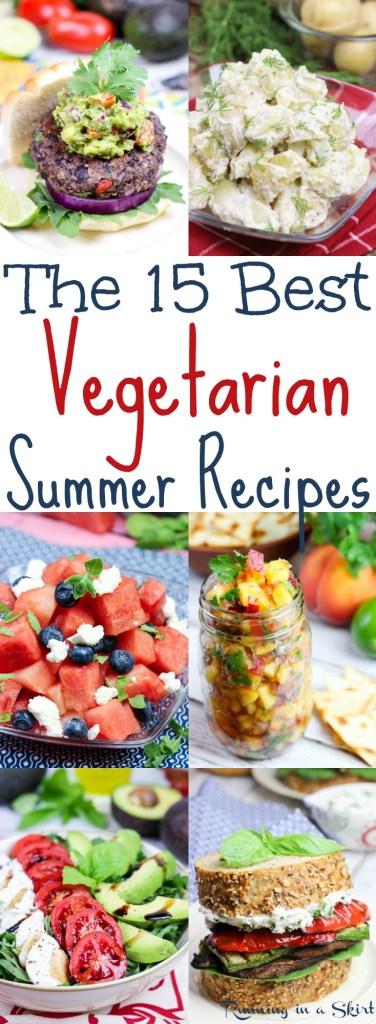 15 Best Vegetarian Summer Recipes from Running in a Skirt