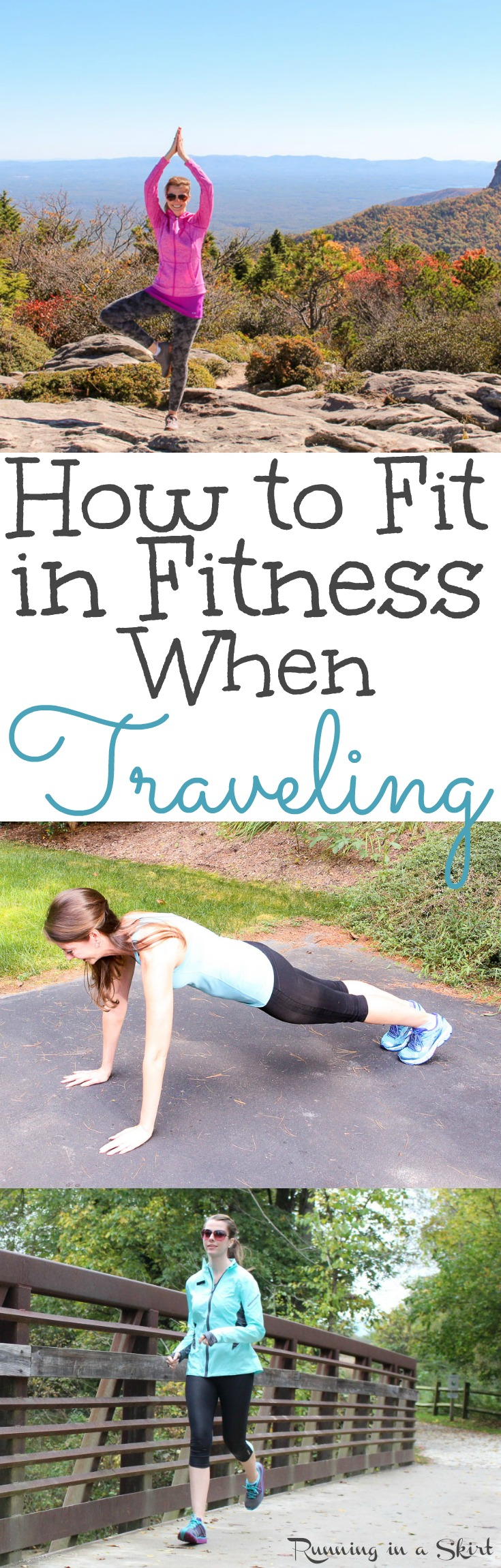 5 Ways to Fit in Fitness While Traveling on your next trip! / Running in a Skirt