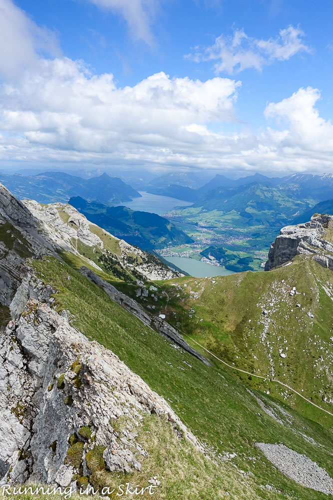 Mt. Pilatus Day Trip from Lucerne Switzerland / Running in a Skirt